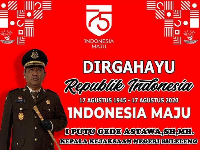 DIRGAHAYU REPUBLIK INDONESIA KE-75 TAHUN 2020
