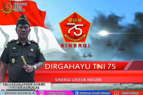 DIRGAHAYU TNI KE-75 TAHUN 2020
