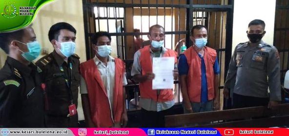Tahap II dari Penyidik pada Kejaksaan Tinggi Bali kepada Penuntut Umum pada Kejaksaan Negeri Buleleng